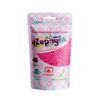 Кинетический пластилин в маленьком дой-паке на европодвесе,  75 гр с формочкой внутри: розовый