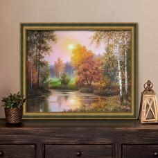"""Картина стразами """"Осенние сумерки"""""""