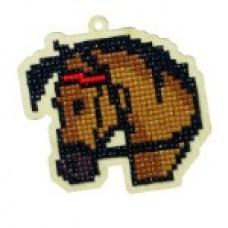 Подвеска Гранни Wood «Конь Максимус», 8,8х8,8 см (полная/квадр.)