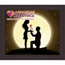 "Картина стразами ""Ночная романтика"""